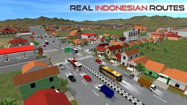印尼巴士模拟器无限金币中文版3.3最新版